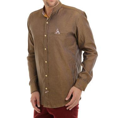 Bendiesel Plain Cotton Shirt_Bdcc014 - Yellow