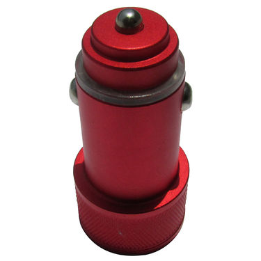 Flashmob C409CC Mattel Bullet Dual USB Car Charger - Red