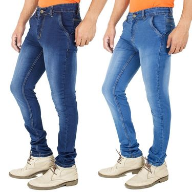 Pack of 2 Cotton Jeans For Men_FA30042