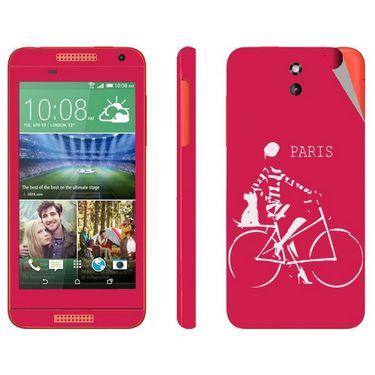 Snooky 28086 Digital Print Mobile Skin Sticker For HTC Desire 610 - Pink