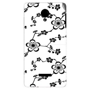 Snooky 40286 Digital Print Mobile Skin Sticker For Micromax Canvas Fun A74 - White