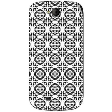 Snooky 40360 Digital Print Mobile Skin Sticker For Micromax Canvas Elanza A93 - White