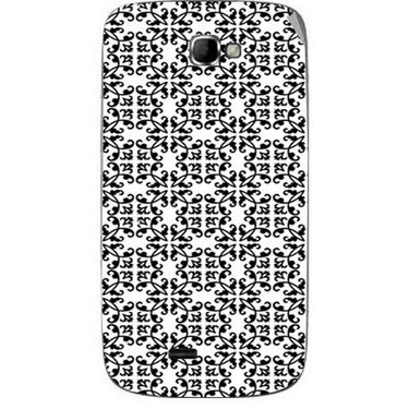 Snooky 40500 Digital Print Mobile Skin Sticker For Micromax Canvas Engage A091 - White