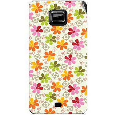 Snooky 40516 Digital Print Mobile Skin Sticker For Micromax Ninja A91 - White