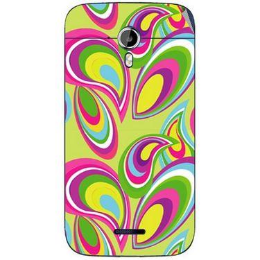Snooky 40631 Digital Print Mobile Skin Sticker For Micromax Canvas Magnus A117 - multicolour