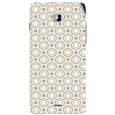 Snooky 40739 Digital Print Mobile Skin Sticker For Micromax Canvas Nitro A311 - Brown