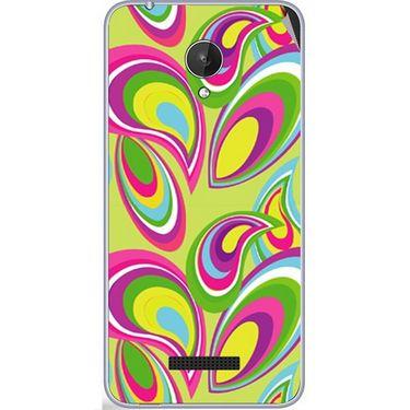 Snooky 40785 Digital Print Mobile Skin Sticker For Micromax Canvas Spark Q380 - multicolour