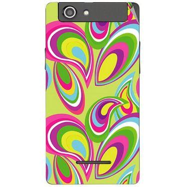 Snooky 40841 Digital Print Mobile Skin Sticker For XOLO A500S - multicolour
