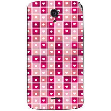 Snooky 40943 Digital Print Mobile Skin Sticker For XOLO Omega 5.0 - Pink