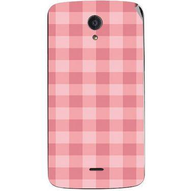Snooky 40954 Digital Print Mobile Skin Sticker For XOLO Omega 5.5 - Pink