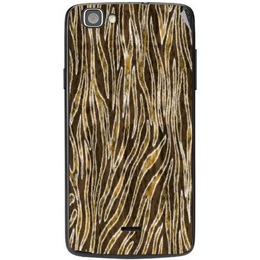 Snooky 40965 Digital Print Mobile Skin Sticker For XOLO One - Brown