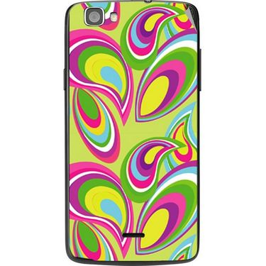 Snooky 41009 Digital Print Mobile Skin Sticker For XOLO Q610S - multicolour