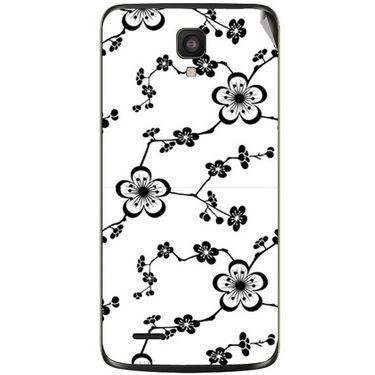 Snooky 41028 Digital Print Mobile Skin Sticker For XOLO Q700 - White