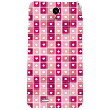Snooky 41069 Digital Print Mobile Skin Sticker For XOLO Q900 - Pink