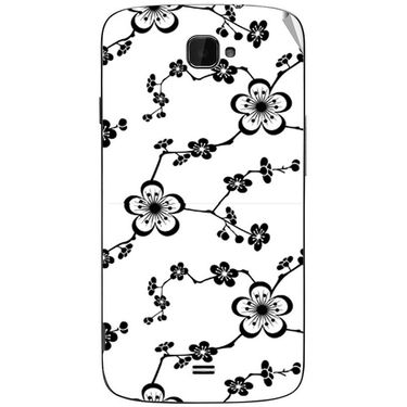 Snooky 41112 Digital Print Mobile Skin Sticker For XOLO Q1000 Opus - White