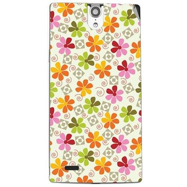 Snooky 41118 Digital Print Mobile Skin Sticker For XOLO Q1010i - White