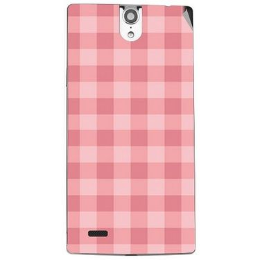 Snooky 41122 Digital Print Mobile Skin Sticker For XOLO Q1010i - Pink