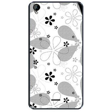 Snooky 41170 Digital Print Mobile Skin Sticker For XOLO Q2000L - White
