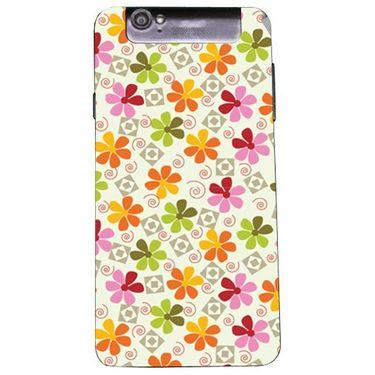 Snooky 41174 Digital Print Mobile Skin Sticker For XOLO Q3000 - White