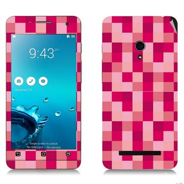 Snooky 41207 Digital Print Mobile Skin Sticker For Asus Zenfone 5 A501CG - Purple