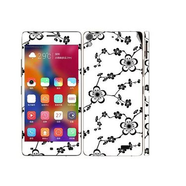 Snooky 41238 Digital Print Mobile Skin Sticker For Gionee Elife 5.1 - White