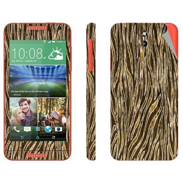 Snooky 41385 Digital Print Mobile Skin Sticker For HTC Desire 610 - Brown