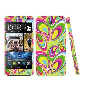 Snooky 41443 Digital Print Mobile Skin Sticker For HTC Desire 616 - multicolour