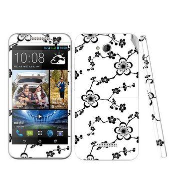 Snooky 41448 Digital Print Mobile Skin Sticker For HTC Desire 616 - White
