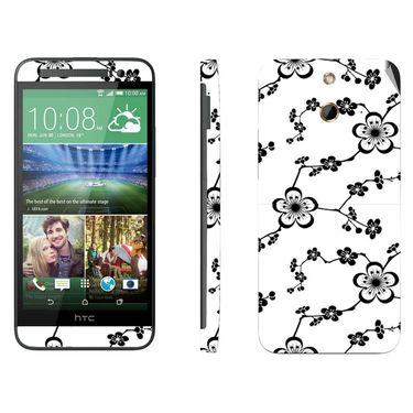 Snooky 41476 Digital Print Mobile Skin Sticker For HTC One E8 - White