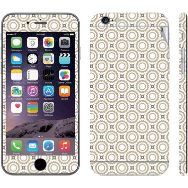 Snooky 41537 Digital Print Mobile Skin Sticker For Apple Iphone 6 - Brown