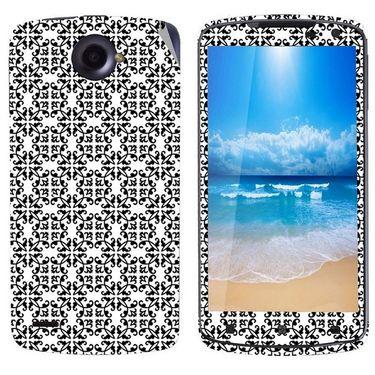 Snooky 41592 Digital Print Mobile Skin Sticker For Lenovo S920 - White