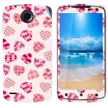 Snooky 41600 Digital Print Mobile Skin Sticker For Lenovo S920 - White