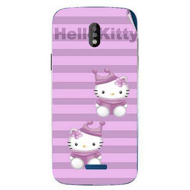 Snooky 41745 Digital Print Mobile Skin Sticker For Lava Iris 450 - Pink