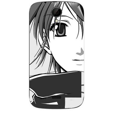 Snooky 41977 Digital Print Mobile Skin Sticker For Intex Aqua i3 - Grey
