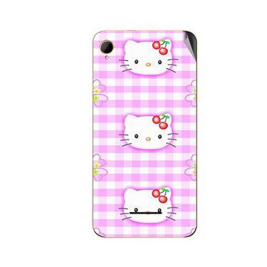 Snooky 42107 Digital Print Mobile Skin Sticker For Intex Aqua Power HD - Pink