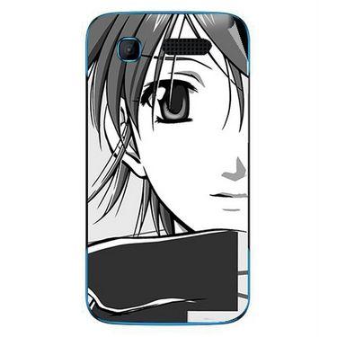 Snooky 42241 Digital Print Mobile Skin Sticker For Intex Aqua T3 - Grey