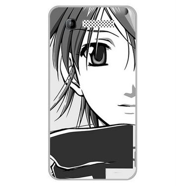 Snooky 42296 Digital Print Mobile Skin Sticker For Intex Cloud Y11 - Grey