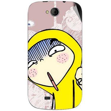 Snooky 46193 Digital Print Mobile Skin Sticker For Micromax Canvas Elanza A93 - Multicolour