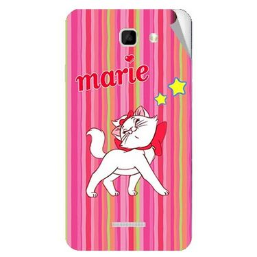 Snooky 46465 Digital Print Mobile Skin Sticker For Micromax Canvas Xl2 A109 - Pink
