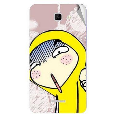 Snooky 46481 Digital Print Mobile Skin Sticker For Micromax Canvas Xl2 A109 - Multicolour