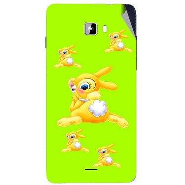 Snooky 46915 Digital Print Mobile Skin Sticker For Micromax Canvas Nitro A311 - Green