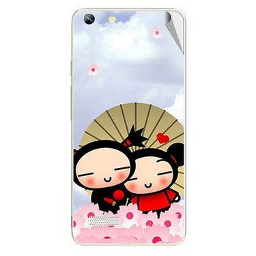 Snooky 46996 Digital Print Mobile Skin Sticker For Micromax Canvas Hue AQ5000 - Multicolour