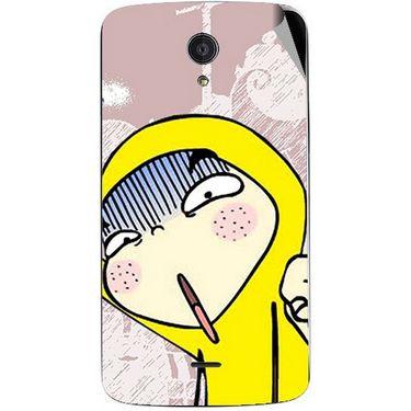 Snooky 47440 Digital Print Mobile Skin Sticker For Xolo Omega 5.0 - Multicolour