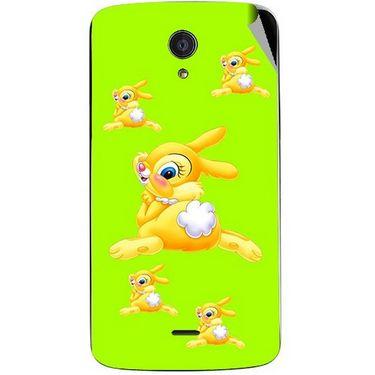Snooky 47458 Digital Print Mobile Skin Sticker For Xolo Omega 5.5 - Green