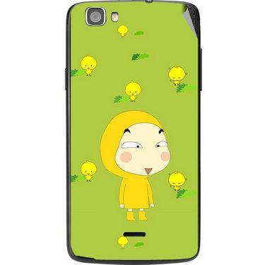 Snooky 47572 Digital Print Mobile Skin Sticker For Xolo Q610s - Green