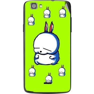 Snooky 47581 Digital Print Mobile Skin Sticker For Xolo Q610s - Green