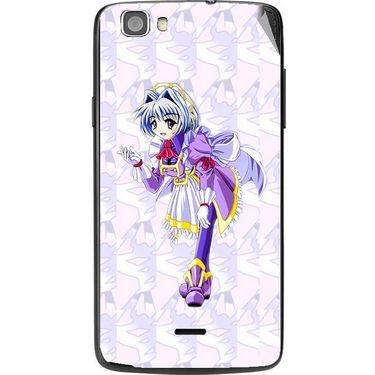 Snooky 47594 Digital Print Mobile Skin Sticker For Xolo Q610s - Purple