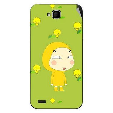 Snooky 47668 Digital Print Mobile Skin Sticker For Xolo Q800 - Green