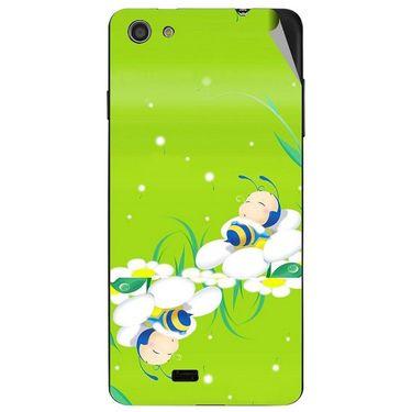 Snooky 47738 Digital Print Mobile Skin Sticker For Xolo Q900S - Green