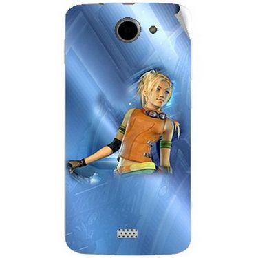 Snooky 47771 Digital Print Mobile Skin Sticker For Xolo Q1000 - Blue